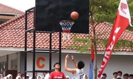 Development Basketball League (DBL) di SMAN 1 Dramaga