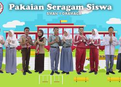 Seragam Sekolah SMA Negeri 1 Dramaga