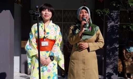 Kehadiran Sensei Abeh Karin sebagai Native Speaker dari Jepang