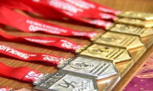 SMA Negeri 1 Dramaga Meraih Juara 1,2 dan 3 dari cabang Karate Tingkat Provinsi Jawa Barat