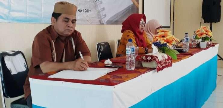 Kegiatan workshop penyusunan kisi-kisi soal PAT (Penilaian Akhir Tahun) SMAN 1 Dramaga Tahun Pelajaran 2018/2019