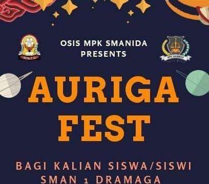 "Kegiatan Pentas Seni ""AURIGA FEST 2019"" SMA Negeri 1 Dramaga"
