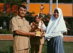 Siswa SMA Negeri 1 Dramaga Meraih Juara 1 Lomba Karya Ilmiah Remaja Islami dalam rangka Lomba Pentas PAI tingkat Kabupaten Bogor