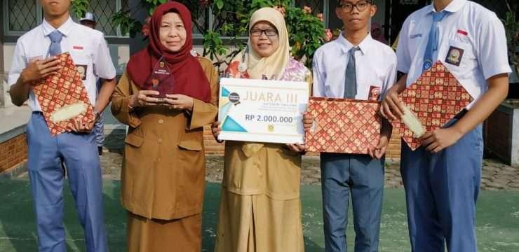 SMA Negeri 1 Dramaga Juara 3 Lomba Inovasi Tingkat Kabupaten Bogor