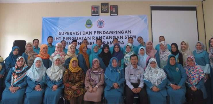Supervisi dan Pendampingan IHT Penguatan Rancangan STEM