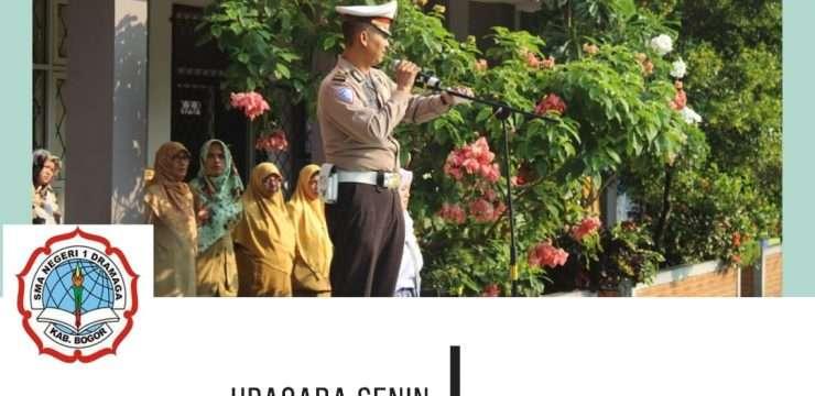 Pembina Upacara Bendera SMANIDA 2019 dari Polsek Dramaga