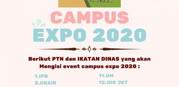 Campus Expo SMANIDA 2020