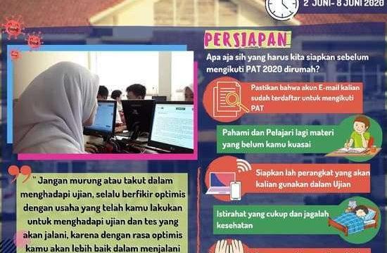 Penilaian Akhir Tahun Online SMANIDA Tahun Pelajaran 2019/2020